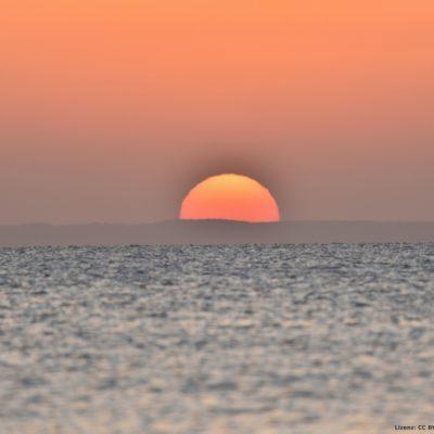 Sonnenaufgang Beginn
