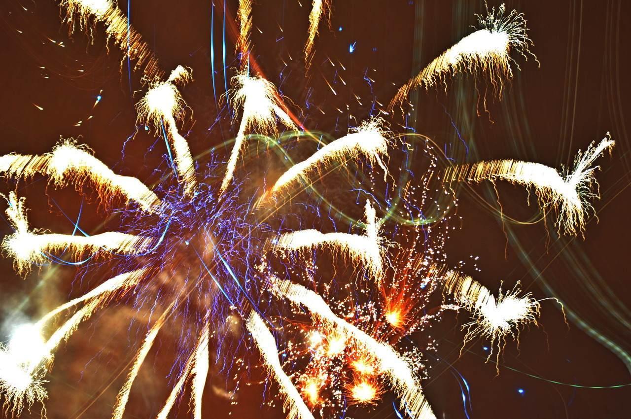 Rursee Feuerwerk
