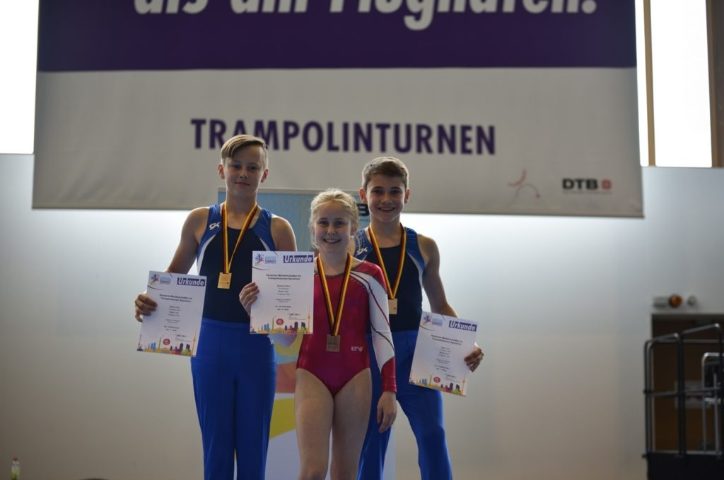 Trampolin DM Berlin Turnfest IDTF 2017