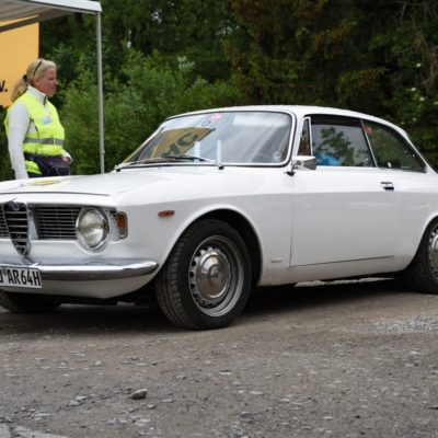 Gesamtsieger Tourensport Alfa Romeo Guilia Sprint GT