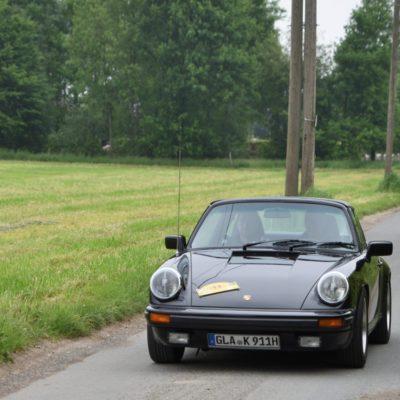 Gesamtsieger Touristik Porsche 911 SC Targa