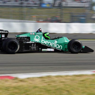 Martin Stretton im Tyrrell