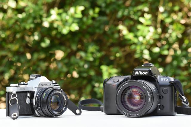 Pentax and Nikon